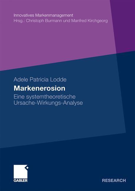 Markenerosion | Lodde | Mit Geleitworten von Prof. Dr. Michael Hülsmann und Prof. Dr. Christoph Burmann, 2010 | Buch (Cover)