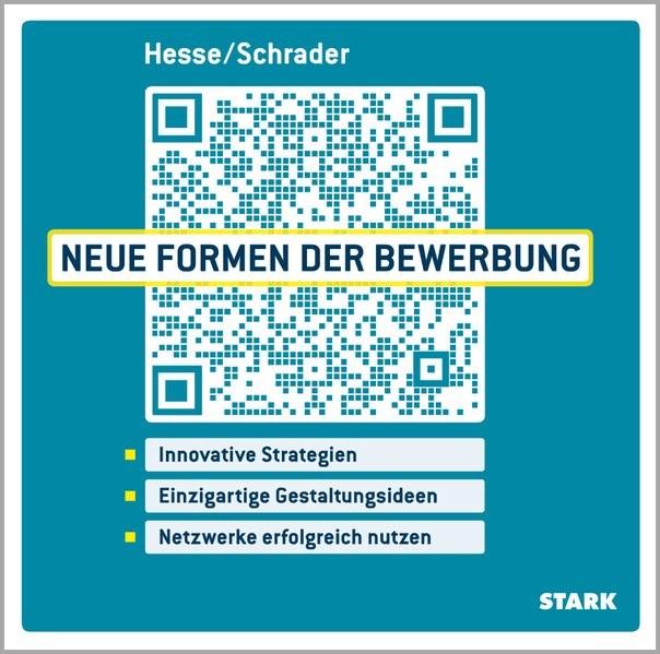 Neue Formen der Bewerbung | Hesse / Schrader | vollständig überarbeitete und aktualisierte Neuauflage, 2014 | Buch (Cover)