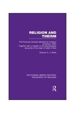 Abbildung von Webb | Religion and Theism | 1. Auflage | 2013 | beck-shop.de