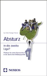 Absturz in die zweite Liga?, 2002 | Buch (Cover)