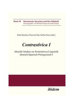 Abbildung von Sánchez Prieto / Soliño Pazó | Contrastivica I: Aktuelle Studien zur Kontrastiven Linguistik Deutsch-Spanisch-Portugiesisch I | 2012 | 38