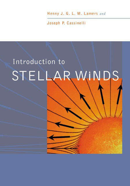 Abbildung von Lamers / Cassinelli | Introduction to Stellar Winds | 1999