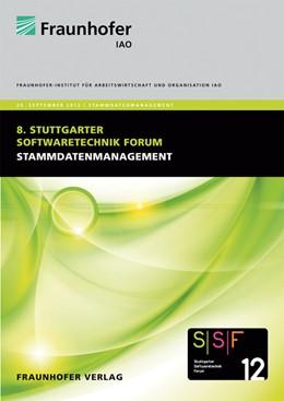 Abbildung von / Spath / Weisbecker / Kokemüller | Stammdatenmanagement | 2012 | Tagungsband des Stuttgarter So...