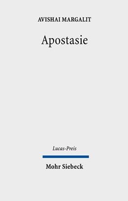 Abbildung von Margalit / Drehsen | Apostasie | 2013 | 2011