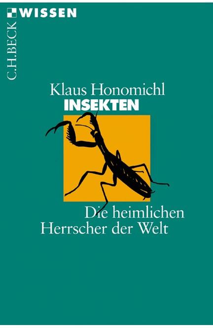 Cover: Klaus Honomichl, Insekten