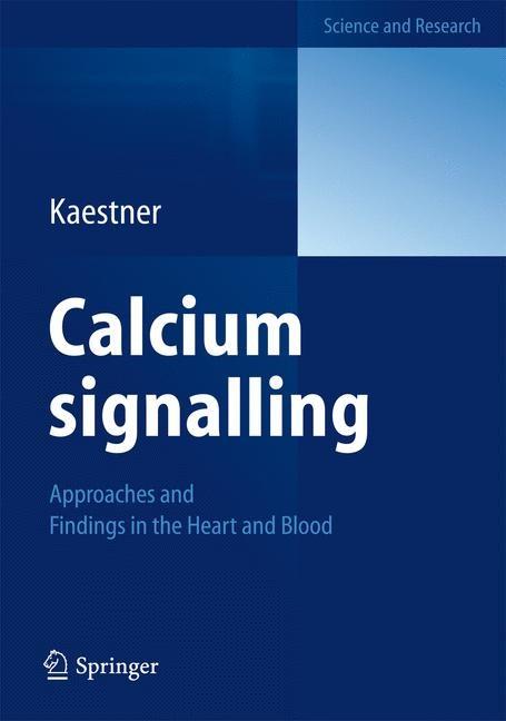 Calcium signalling   Kaestner, 2012   Buch (Cover)