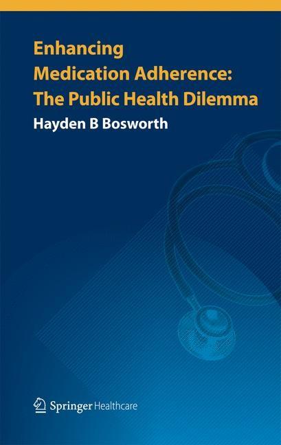Enhancing Medication Adherence | Bosworth, 2014 | Buch (Cover)