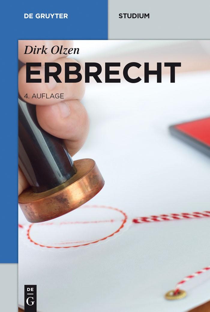 Erbrecht | Olzen | 4., neu bearbeitete Auflage, 2013 | Buch (Cover)