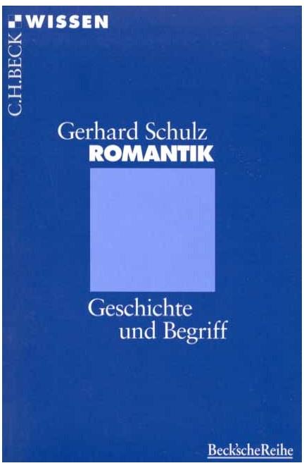Cover: Gerhard Schulz, Romantik