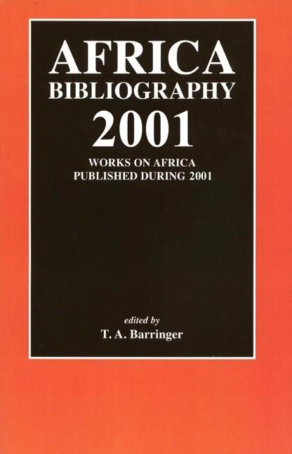 Abbildung von Barringer | Africa Bibliography 2001 | 2002