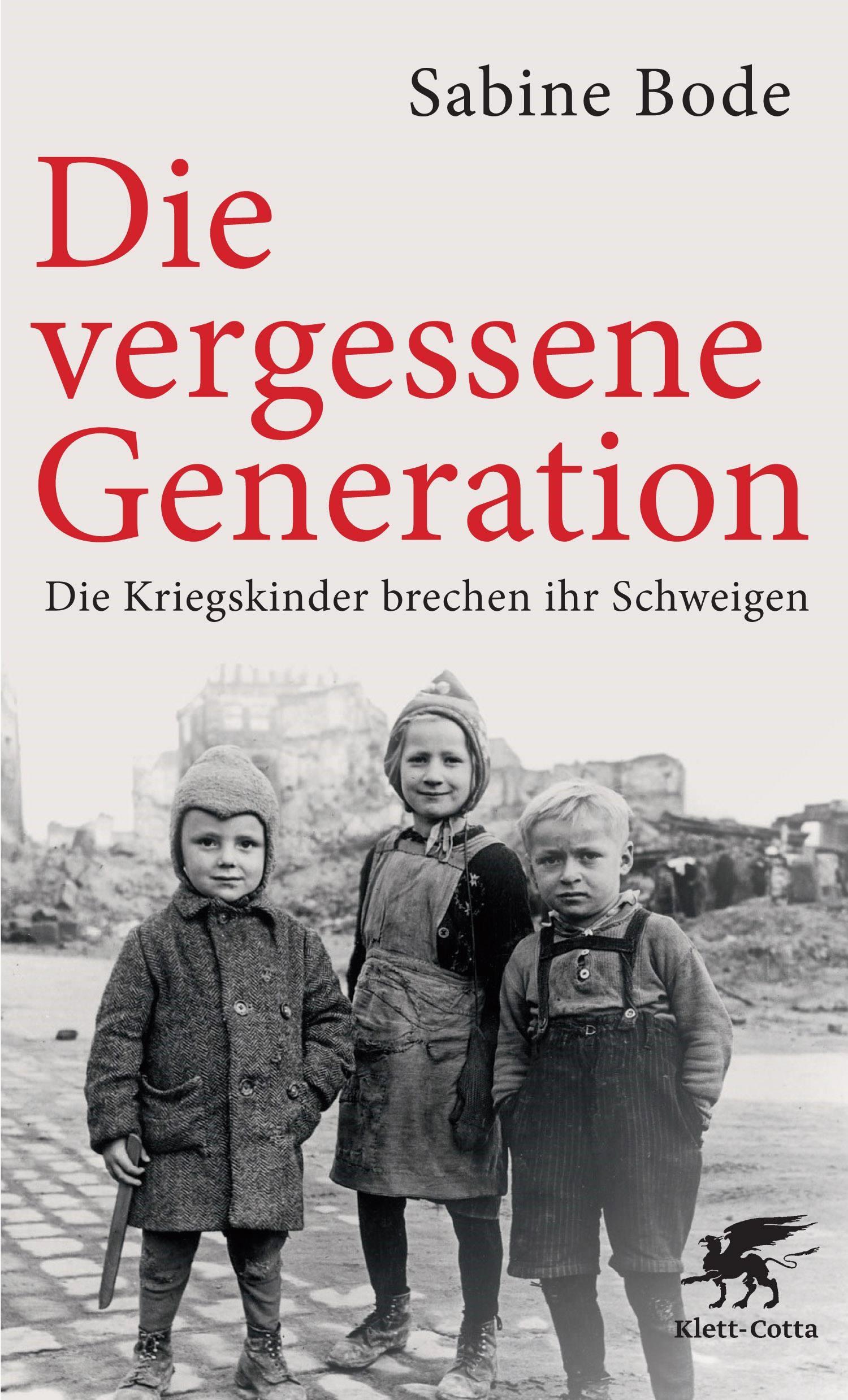 Die vergessene Generation | Bode | 16. Auflage, 2017 | Buch (Cover)