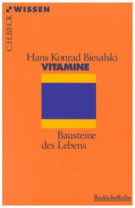 Cover: Hans Konrad Biesalski, Vitamine