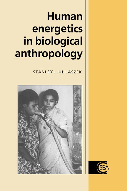 Abbildung von Ulijaszek | Human Energetics in Biological Anthropology | 1995