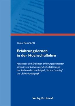 Abbildung von Reinhardt | Erfahrungslernen in der Hochschullehre | 2012 | Konzeption und Evaluation erfa... | 16