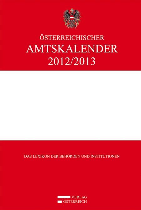 Abbildung von Österreichischer Amtskalender 2012/2013 | 2012