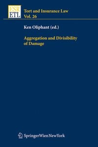 Aggregation and Divisibility of Damage | Oliphant, 2009 | Buch (Cover)