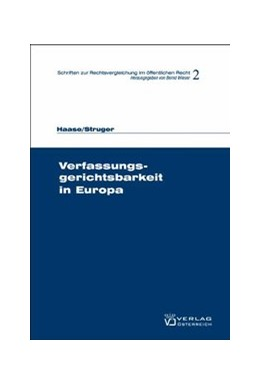 Abbildung von Wieser / Haase | Verfassungsgerichtsbarkeit in Europa | 1. Auflage | 2009 | 2 | beck-shop.de
