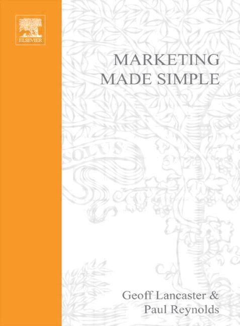 Abbildung von Reynolds / Lancaster | Marketing Made Simple | 2002