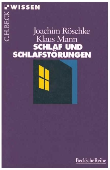 Cover: Joachim Röschke|Klaus Mann, Schlaf und Schlafstörungen
