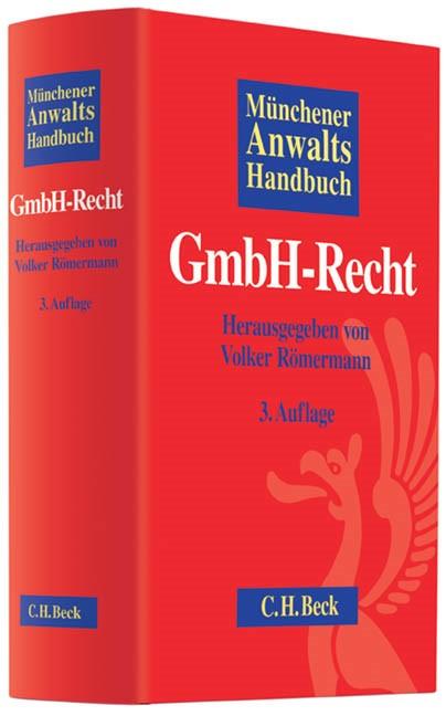 Münchener Anwaltshandbuch GmbH-Recht | Buch (Cover)