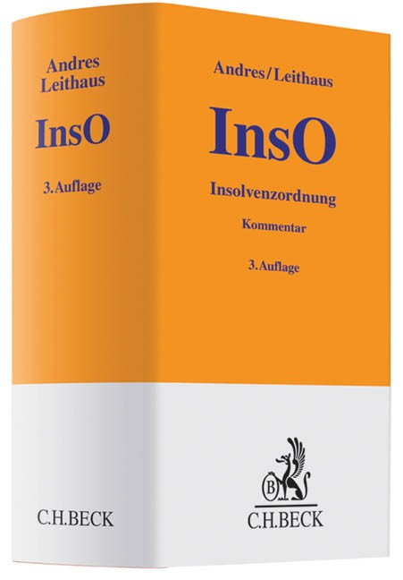 Insolvenzordnung: InsO | Andres / Leithaus | 3. Auflage, 2014 | Buch (Cover)