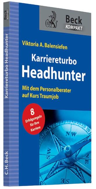 Karriereturbo Headhunter | Balensiefen, 2013 | Buch (Cover)