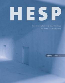 Abbildung von Scholl | HESP | 2012 | Higher Education in Spatial Pl...
