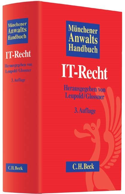 Münchener Anwaltshandbuch IT-Recht | 3., überarbeitete und erweiterte Auflage, 2013 | Buch (Cover)