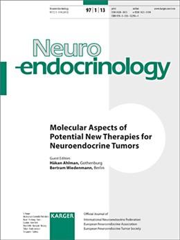 Abbildung von Ahlman / Wiedenmann | Molecular Aspects of Potential New Therapies for Neuroendocrine Tumors | 2013 | Special Topic Issue: Neuroendo...