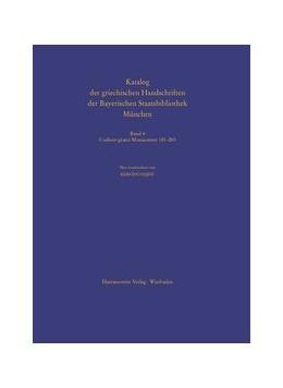 Abbildung von Codices graeci Monacenses 181-265 | 2012 | 4