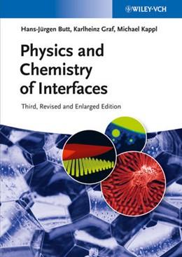 Abbildung von Butt / Graf / Kappl   Physics and Chemistry of Interfaces   2013