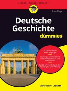 Abbildung von Ditfurth   Deutsche Geschichte für Dummies   2012