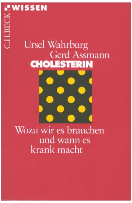 Cover: Gerd Assmann|Ursel Wahrburg, Cholesterin
