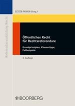 Öffentliches Recht für Rechtsreferendare | Leuze-Mohr (Hrsg.) | 3., überarbeitete Auflage, 2012 | Buch (Cover)