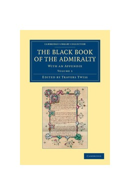 Abbildung von Twiss   The Black Book of the Admiralty   2012   With an Appendix