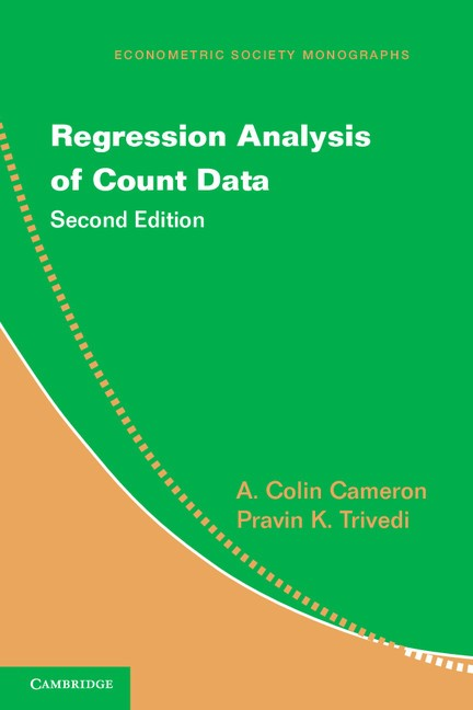 Abbildung von Cameron / Trivedi | Regression Analysis of Count Data | 2013