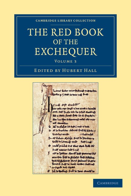 Abbildung von Hall | The Red Book of the Exchequer | 2012