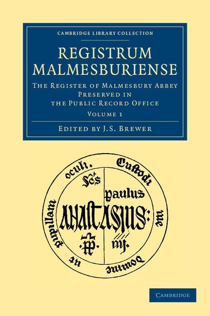 Abbildung von Brewer   Registrum Malmesburiense   2012