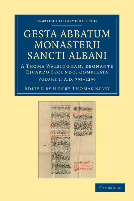 Abbildung von Riley / Walsingham | Gesta abbatum monasterii Sancti Albani | 2012