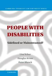 Abbildung von Schur / Kruse / Blanck | People with Disabilities | 2013
