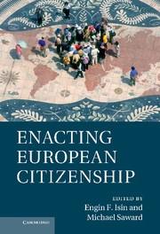 Abbildung von Isin / Saward | Enacting European Citizenship | 2013