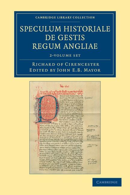 Abbildung von Richard of Cirencester / Mayor | Ricardi de Cirencestria speculum historiale de gestis regum Angliae 2 Volume Set | 2012