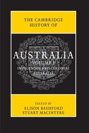 Abbildung von Bashford / Macintyre   The Cambridge History of Australia 2 Volume Set   2013