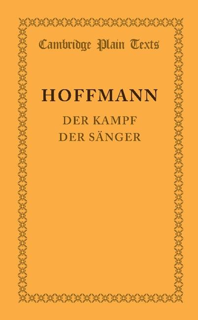 Abbildung von Hoffmann | Der Kampf der Sänger | 2013