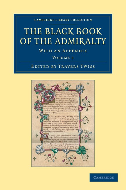 Abbildung von Twiss | The Black Book of the Admiralty | 2012