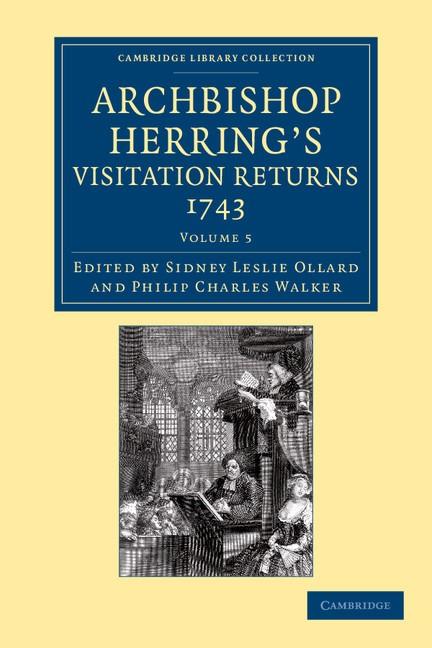 Abbildung von Ollard / Walker   Archbishop Herring's Visitation Returns, 1743   2013