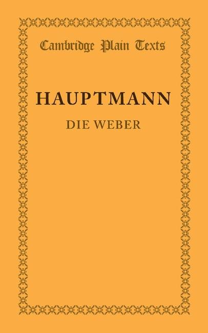 Abbildung von Hauptmann | Die Weber | 2013
