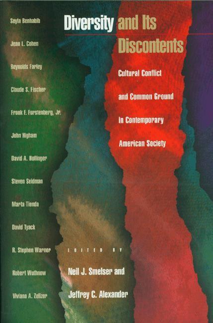 Abbildung von Smelser / Alexander | Diversity and Its Discontents | 1999