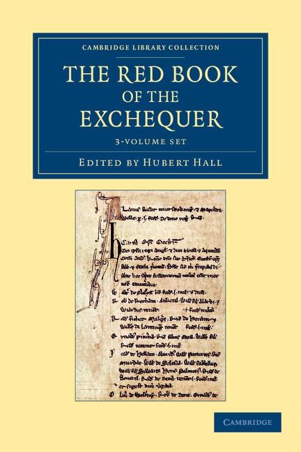 Abbildung von Hall | The Red Book of the Exchequer 3 Volume Set | 2012
