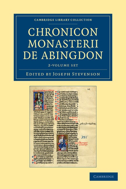 Abbildung von Stevenson | Chronicon Monasterii de Abingdon 2 Volume Set | 2012